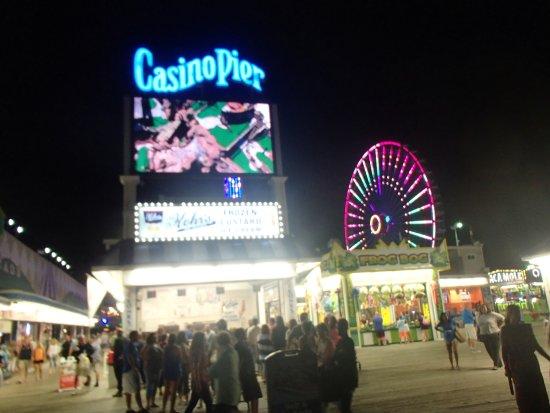 Casino Pier & Breakwater Beach Waterpark: tons of fun. Jersey Shore.