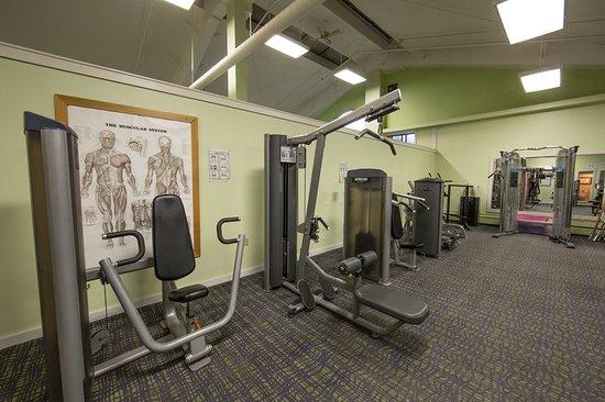 Brownsville, VT: Fitness Center upper body workout