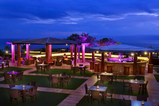 Holiday Inn Resort Dead Sea: Horizon Terrace Overlooking the Sea