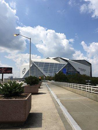 Mercedes benz stadium picture of mercedes benz stadium for South atlanta mercedes benz dealership