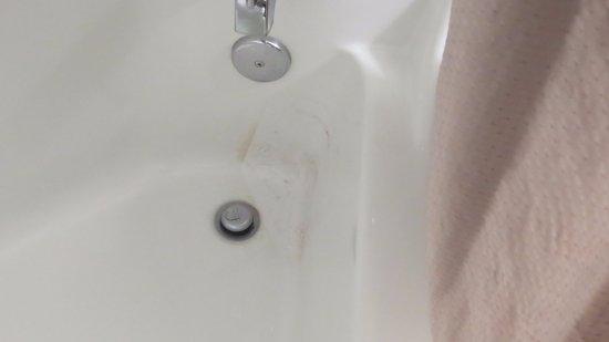 Roseburg, OR: Nice tub stain