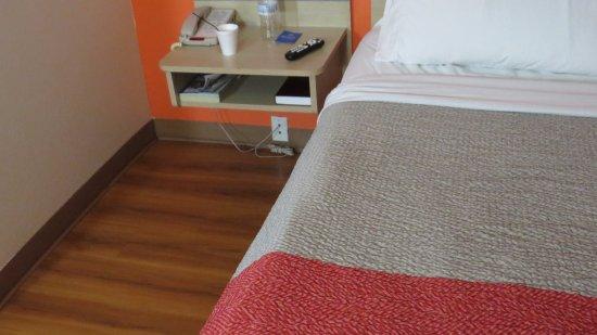 Roseburg, OR: different shot of sunken bed