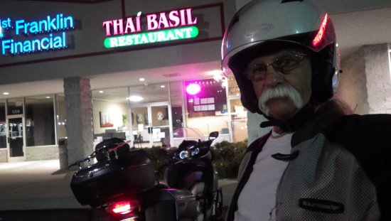 Thai Basil: After a satisfying meal at Thai Basil in Sevierville, TN