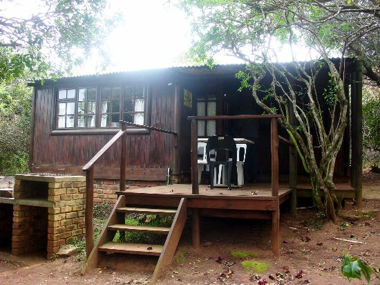 Kenton-on-Sea, South Africa: Our chalet in the bush.