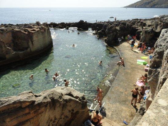 Piscina naturale di marina serra picture of piscina - Piscina naturale puglia ...