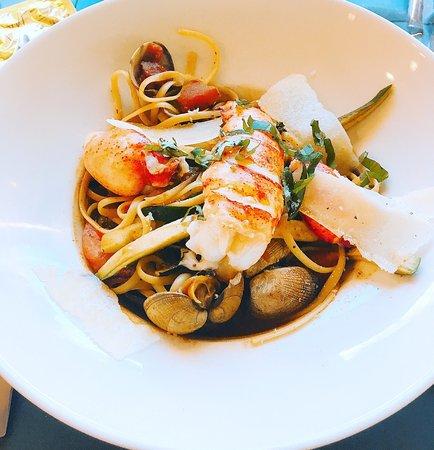 7 ème Vague Boniface : Linguinis au homard
