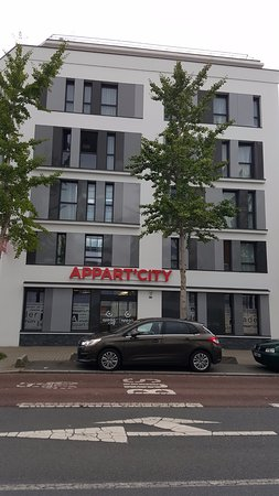 Appart 39 city angers frankrike omd men och for Appart hotel angers
