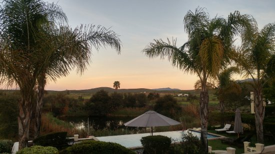 Rosendal Winery & Wellness Retreat: Sunrise view