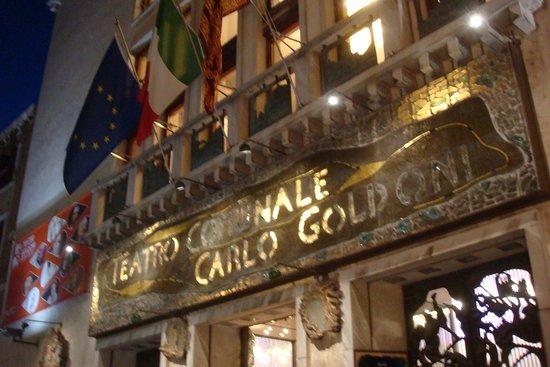 Teatro Goldoni : фасад