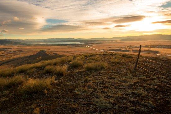 Twizel, Yeni Zelanda: Uninterupted views of the Mackenzie Country on the 4WD Tour.