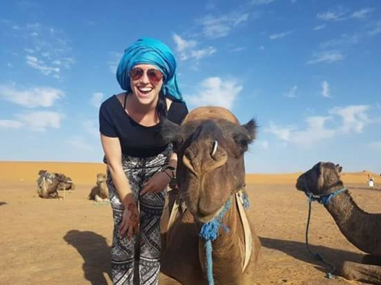 Casablanca, Marruecos: amazing camel ride in Merzouga desert