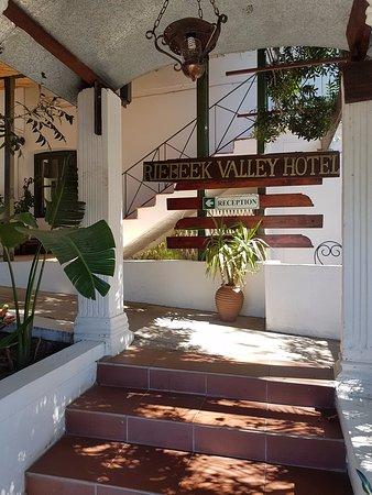 Riebeek-West, Sør-Afrika: Entrance