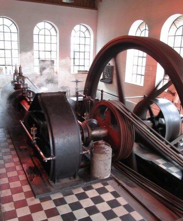 Freudenberg, Germany: Die Dampfmaschine in Aktion