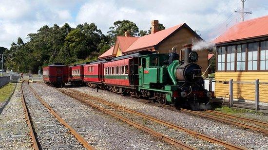 West Coast Wilderness Railway: Strahan Station
