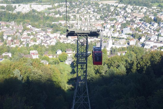 Adliswil, Suiza: Cable car