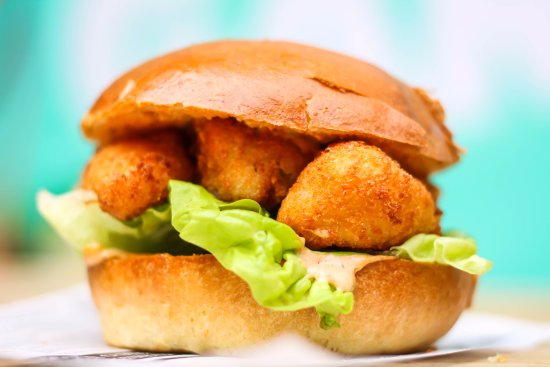 Breaded fillet of cod fish fingers with marie rose tartar for How to make tartar sauce for fish fillet