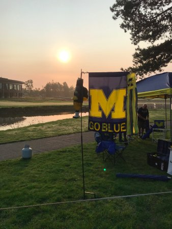 Ann Arbor, MI: Sunrise Tailgate at the Michigan v Air Force game Sep 16, 2017