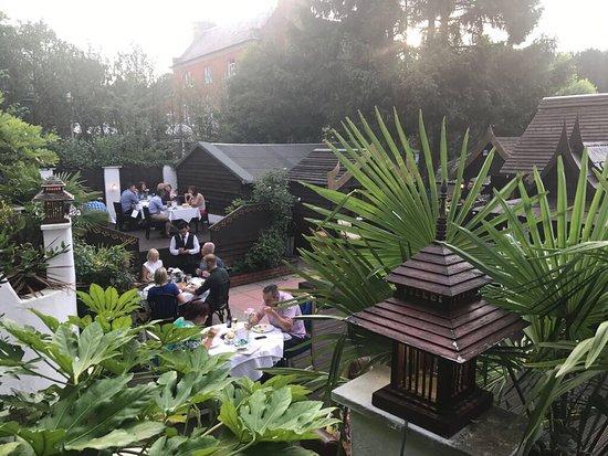Aspley Guise, UK: Blue Orchid Garden