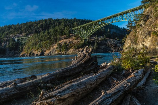 Oak Harbor, WA: Deception Pass Bridge from State Park