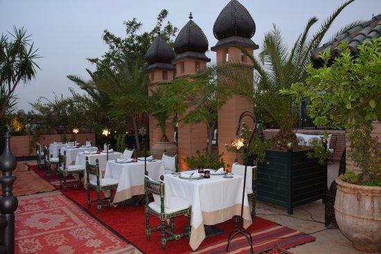 La Sultana : Terrasse dans le pur style Berbère