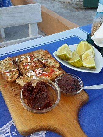 Gorgona: Закуски от ресторана