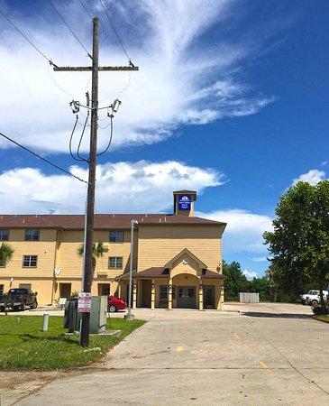 Winnie, Teksas: Exterior