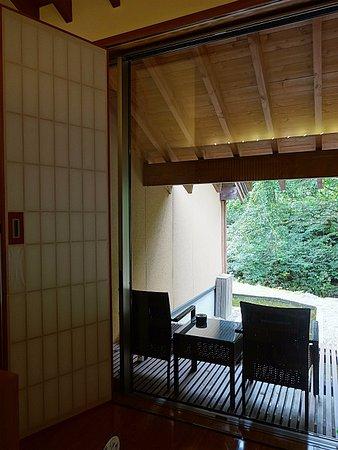 西和賀町, 岩手県, テラスからの眺め