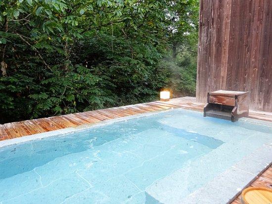 西和賀町, 岩手県, 貸切り露天風呂