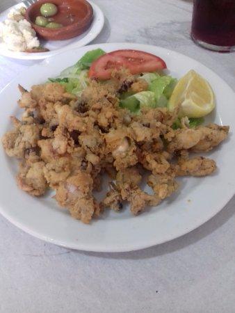 Restaurant Hostal Carlos: Puntillas fritas