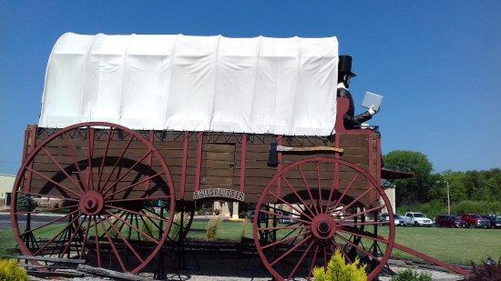 Railsplitter Covered Wagon: carro