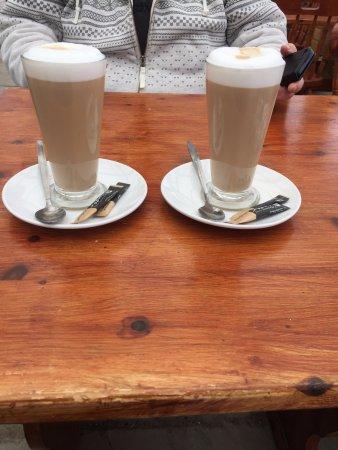 Aberystwyth, UK: nice cuppa from te cafe