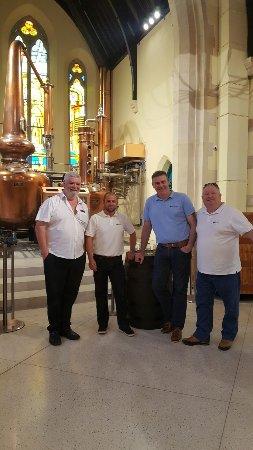 c12e0a0cb8c14c Irish Taxi Tours  New Pearce Lyons Irish whiskey distillery great night had  by all