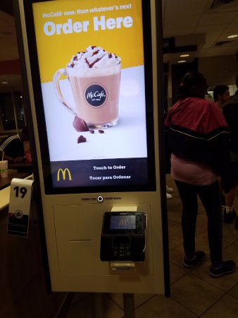 Lake City, FL: ordering kiosk