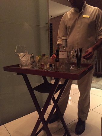 Anse Takamaka, Seszele: Specialty Gin Cocktail