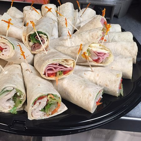 Wetona's Coffee House & Deli: Sandwich and Wrap Trays available for your next meeting or event! Call us today!