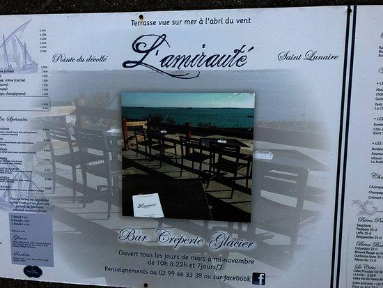 Saint-Lunaire, Francia: Great find!