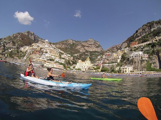 Kayak in Positano