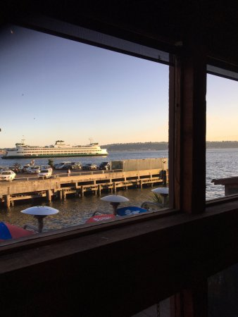The Crab Pot Seafood Restaurant View From Our Table