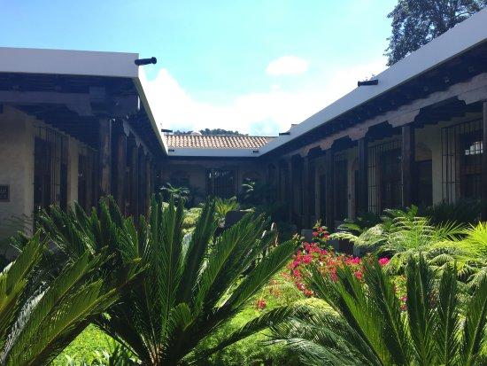 Camino Real Antigua: Patio interno
