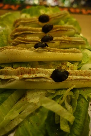 Musso & Frank Grill: Celery sticks stuffed with blue cheese ..