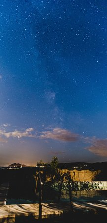 Podereilbiancospino: Milkyway over the Pool