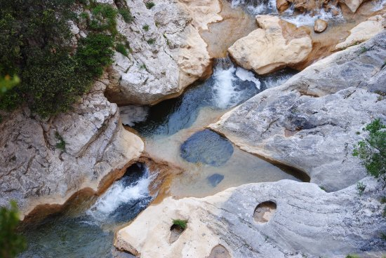 Gorges de Galamus : Rock pools to swim in or book a supervised canyoning experience.