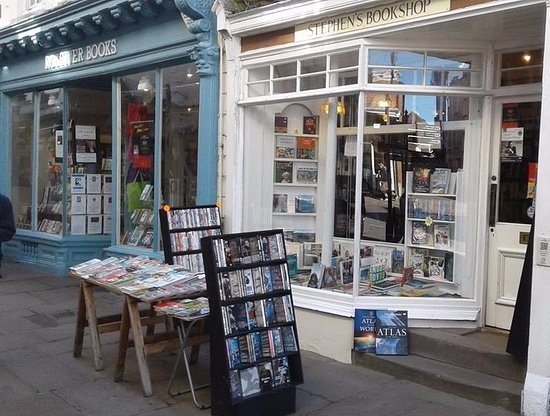 Monmouthshire, UK: Stephens Bookshop. 3 church St. Monmouth.
