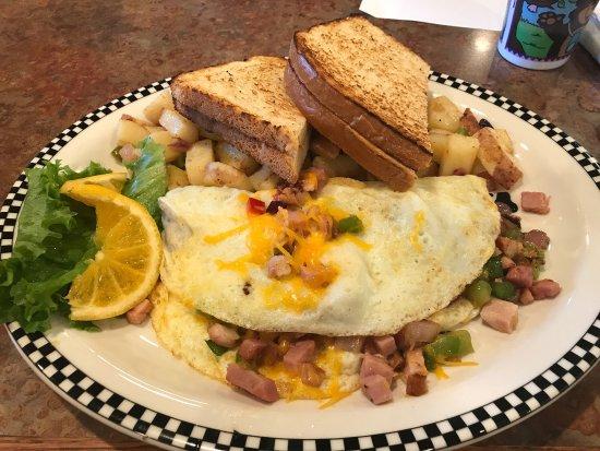 Milpitas, CA: Denver omelette