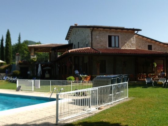 Il Collaccio: This is the restaurant and one of the pools