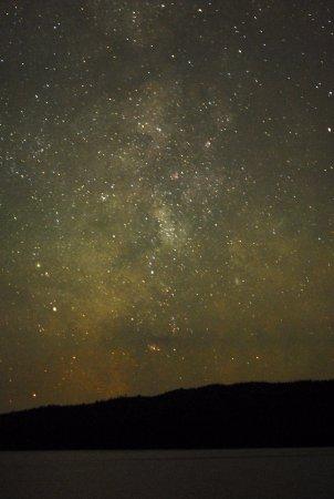 Pittsburg, Nueva Hampshire: Milky Way over Third CT Lake