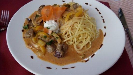 Restaurant Fritschi: Beef stroganoff