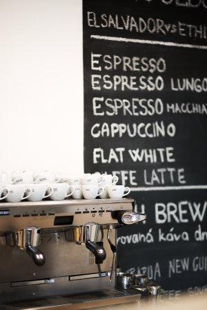 Zlin, República Checa: S výběrem té pravé kávy vám rádi poradíme.
