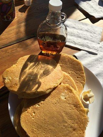 70 Mile House, Canada: pancakes bardzo dobre