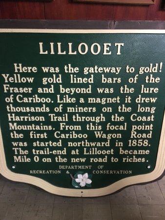 Lillooet Museum & Visitor Centre: eks